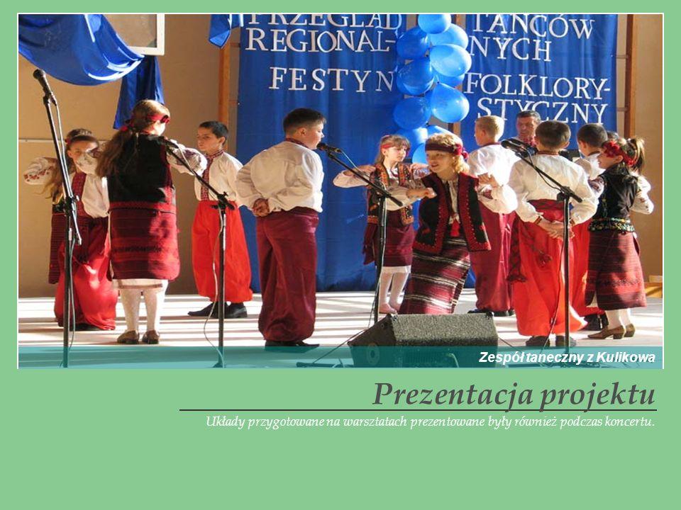 Prezentacja projektu Zespół taneczny z Kulikowa