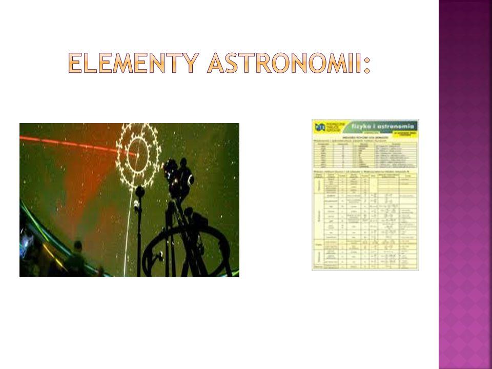Elementy astronomii: