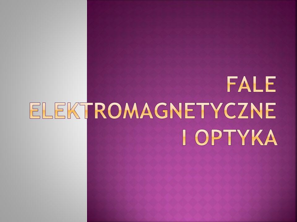 Fale elektromagnetyczne i optyka