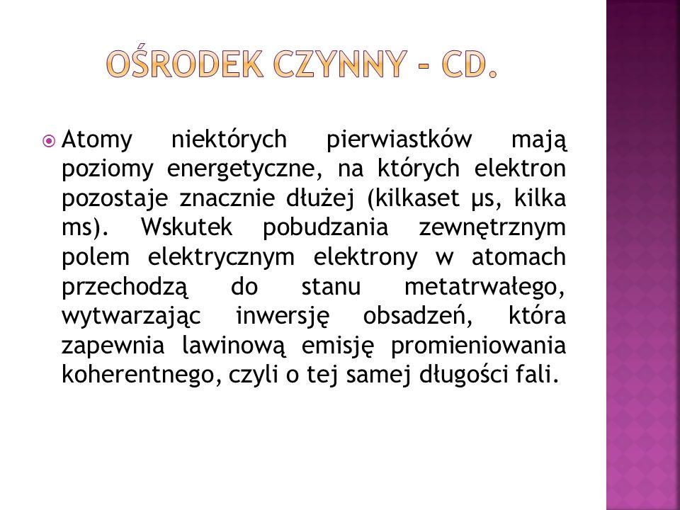 OŚRODEK CZYNNY - CD.
