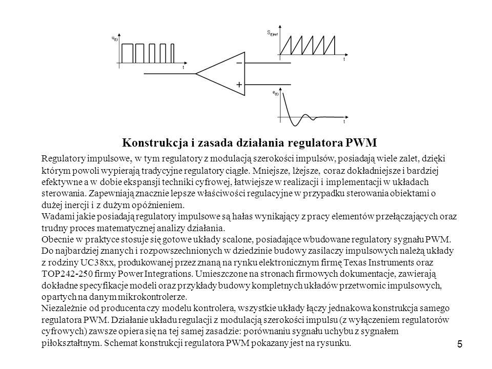 Konstrukcja i zasada działania regulatora PWM
