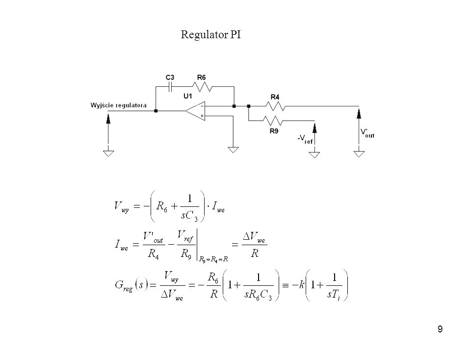 Regulator PI