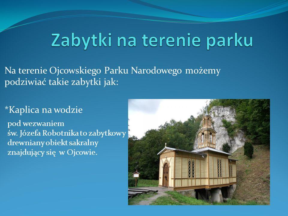 Zabytki na terenie parku