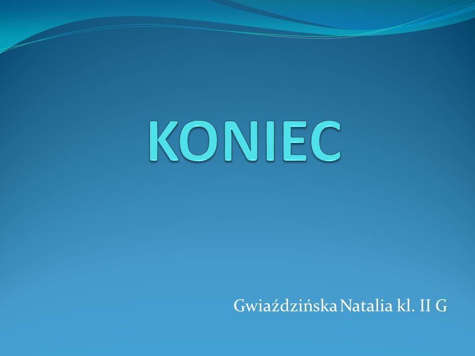 Gwiaździńska Natalia kl. II G
