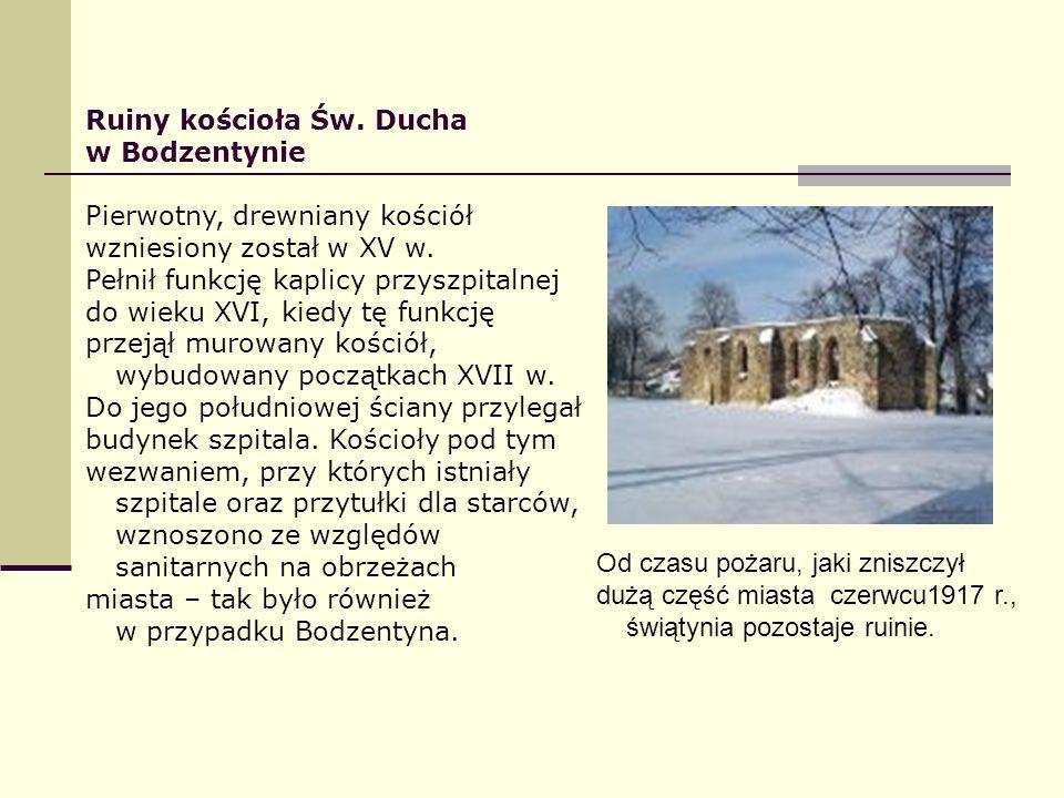 Ruiny kościoła Św. Ducha
