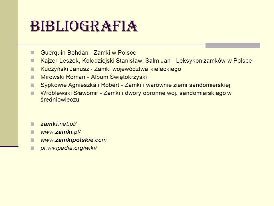 bibliografia Guerquin Bohdan - Zamki w Polsce