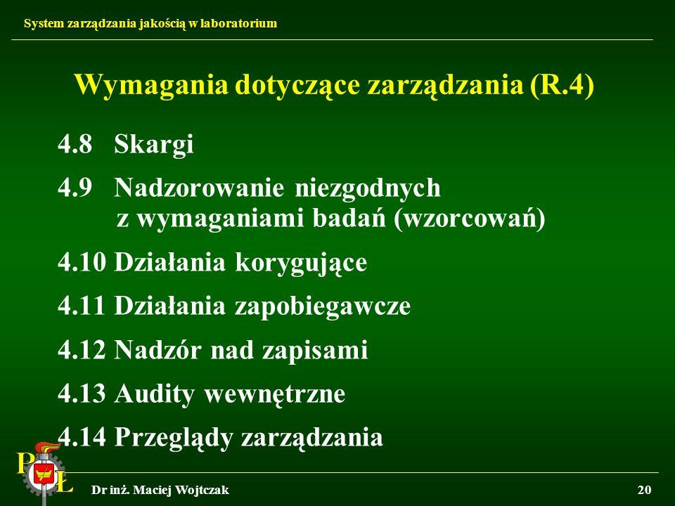 Wymagania dotyczące zarządzania (R.4)