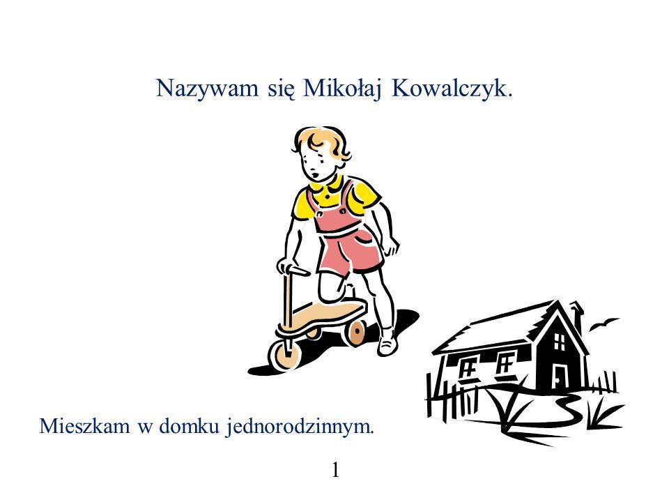 Nazywam się Mikołaj Kowalczyk.