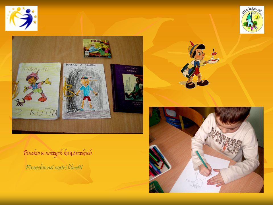 Pinokio w naszych książeczkach