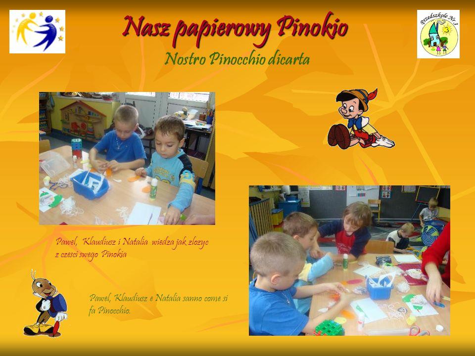 Nasz papierowy Pinokio