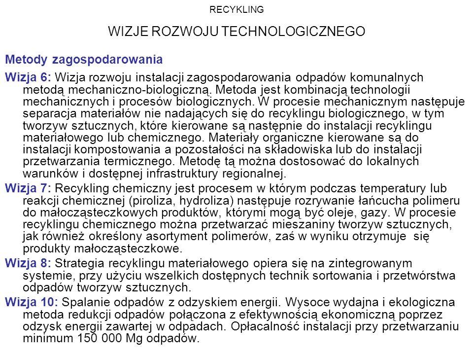 WIZJE ROZWOJU TECHNOLOGICZNEGO