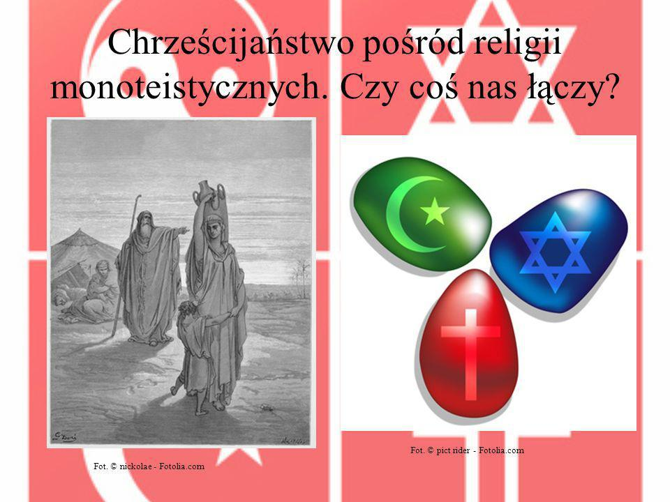 Chrześcijaństwo pośród religii monoteistycznych. Czy coś nas łączy