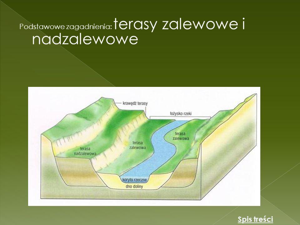 Podstawowe zagadnienia: terasy zalewowe i nadzalewowe