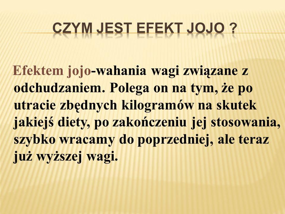 Czym jest efekt jojo