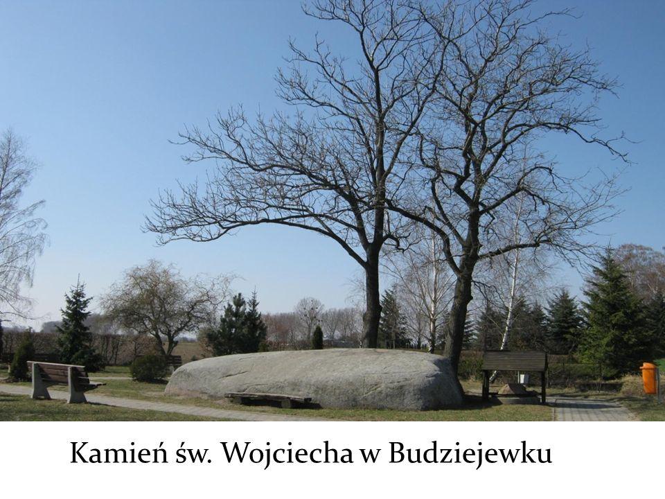 Kamień św. Wojciecha w Budziejewku