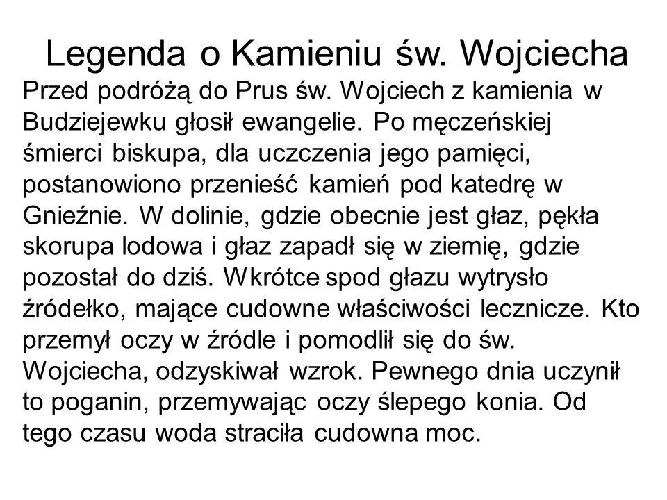 Legenda o Kamieniu św. Wojciecha