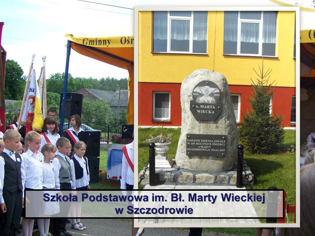 Szkoła Podstawowa im. Bł. Marty Wieckiej w Szczodrowie