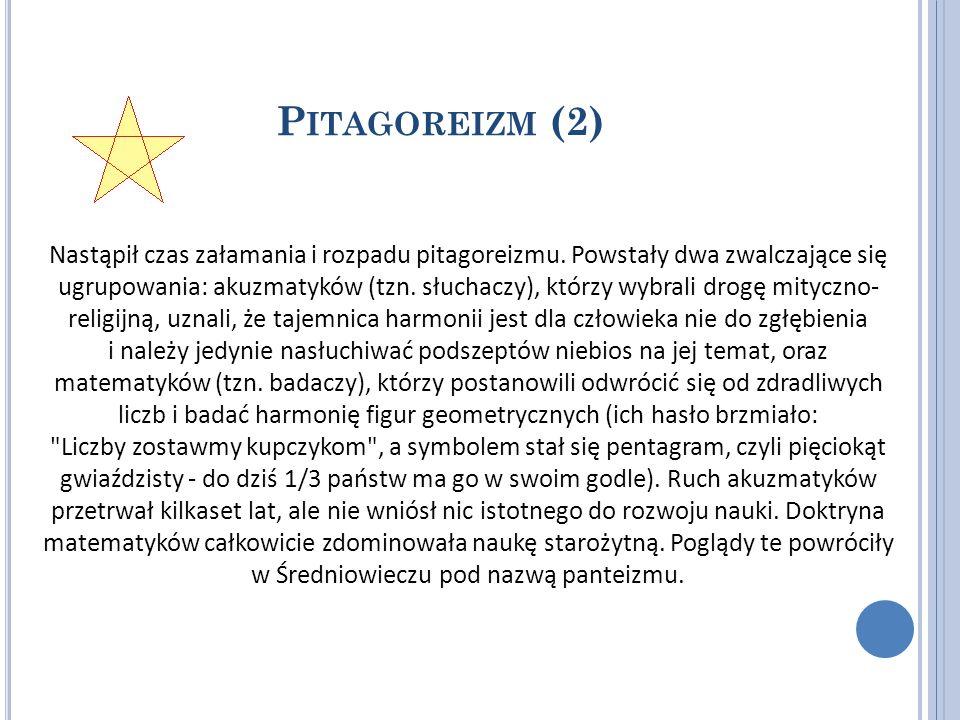 Pitagoreizm (2)