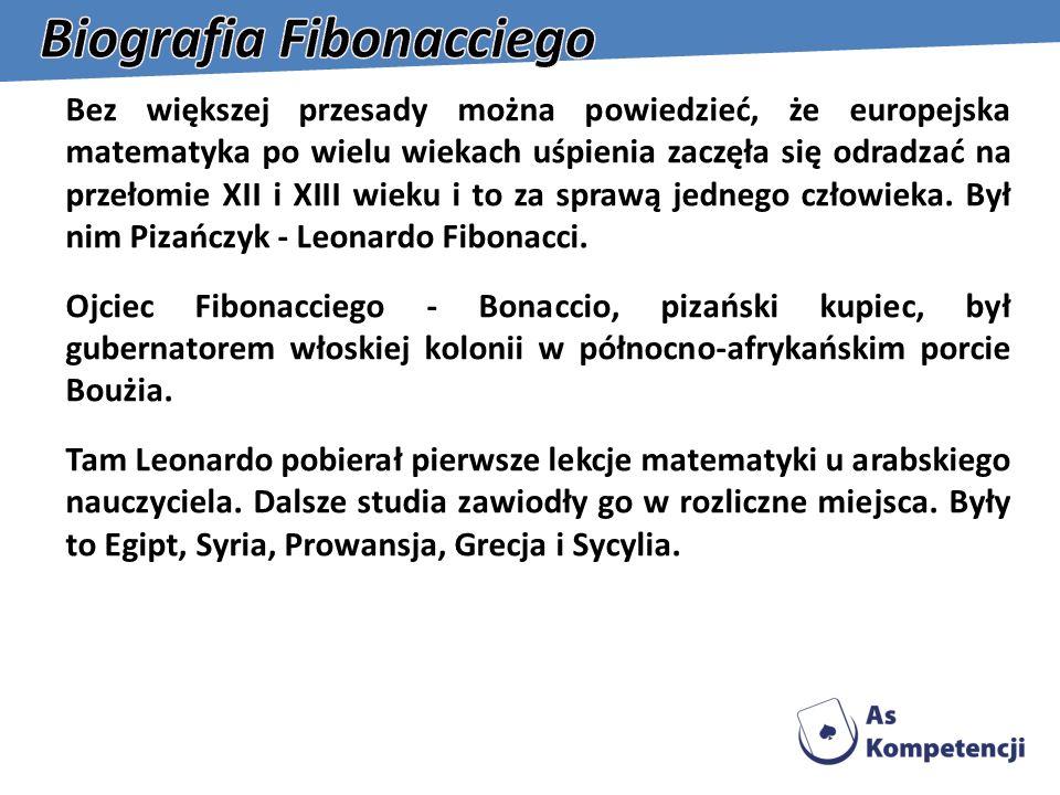 Biografia Fibonacciego