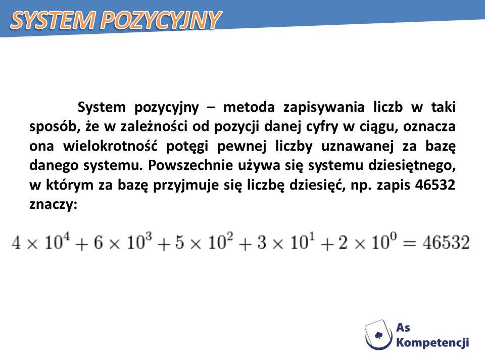 System pozycyjny