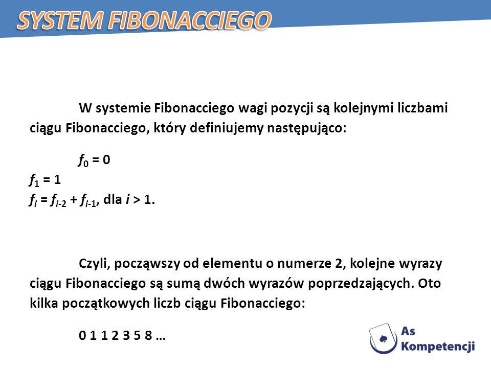 System Fibonacciego