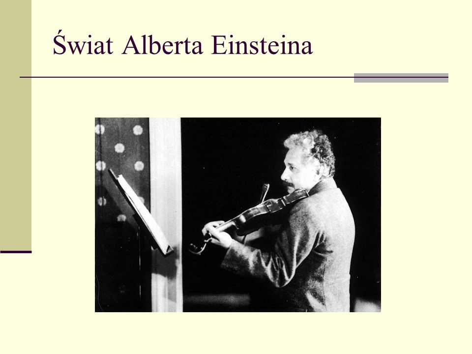 Świat Alberta Einsteina