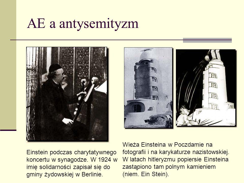 AE a antysemityzm