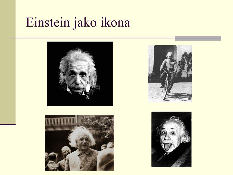 Einstein jako ikona
