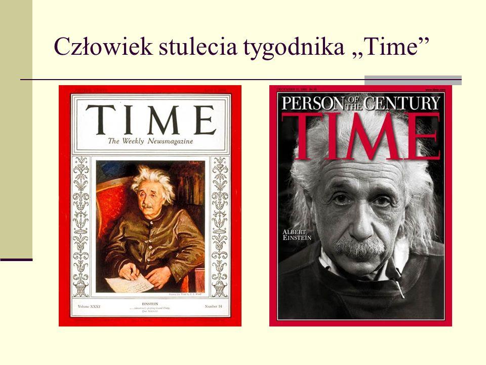 """Człowiek stulecia tygodnika """"Time"""
