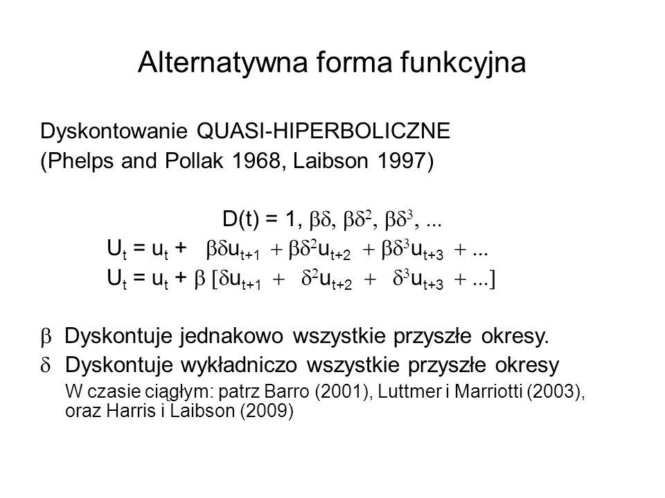 Alternatywna forma funkcyjna