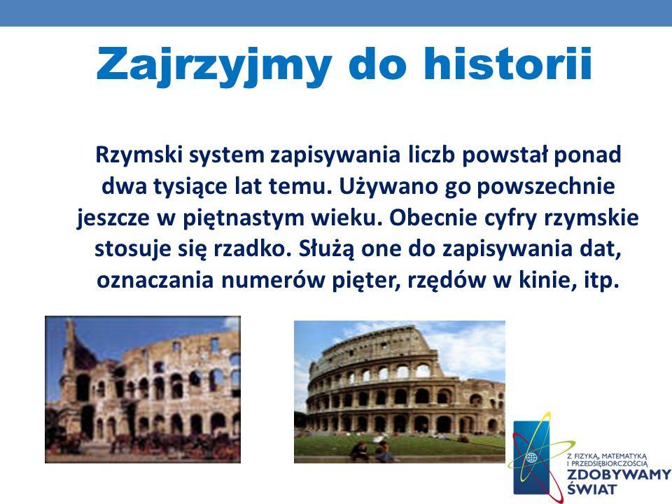 Zajrzyjmy do historii