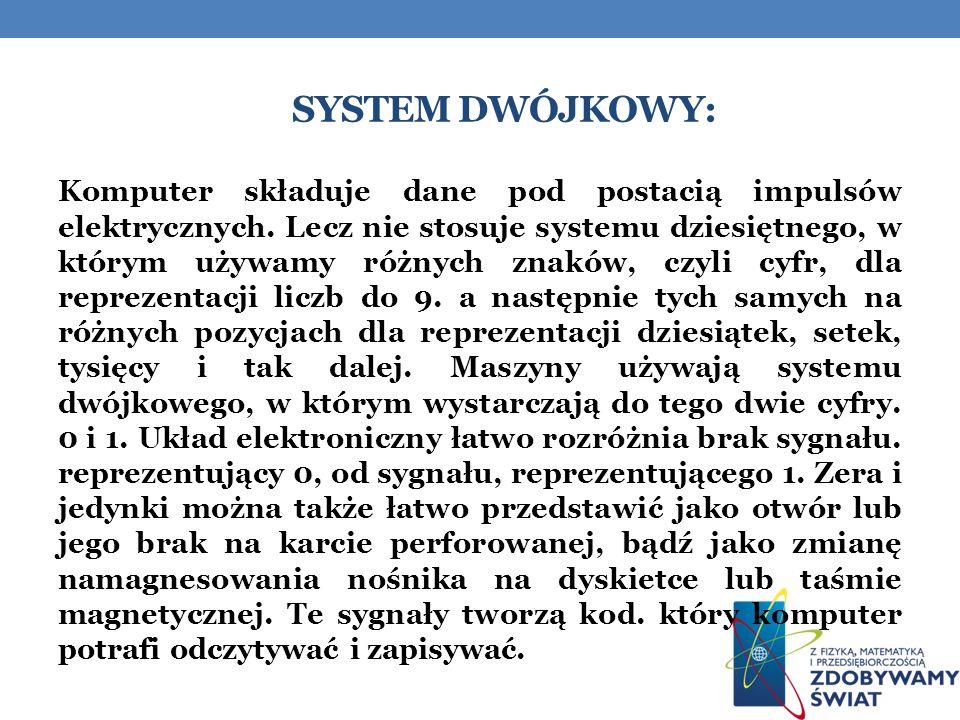 System dwójkowy: