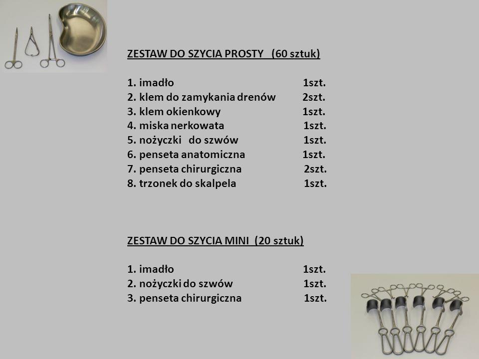 ZESTAW DO SZYCIA PROSTY (60 sztuk)
