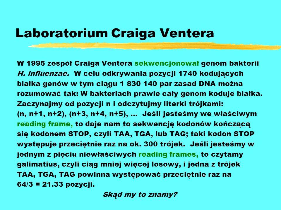 Laboratorium Craiga Ventera