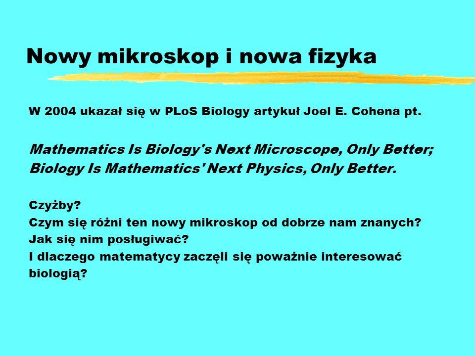 Nowy mikroskop i nowa fizyka