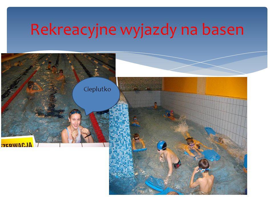 Rekreacyjne wyjazdy na basen
