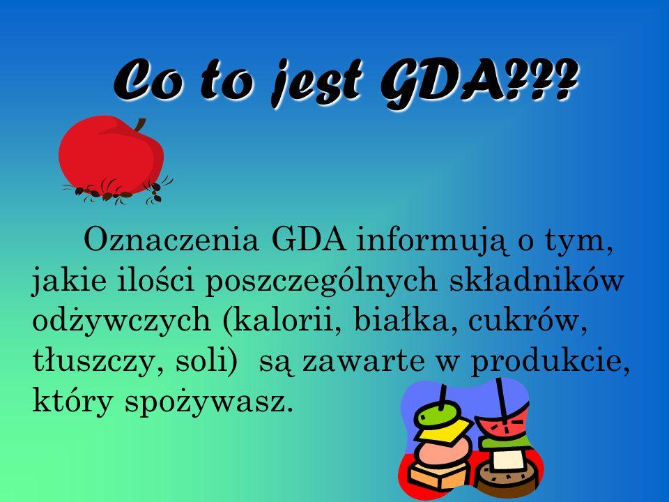 Co to jest GDA