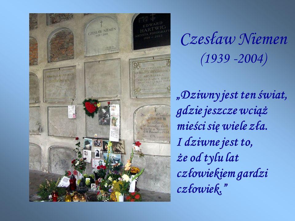 Czesław Niemen (1939 -2004)