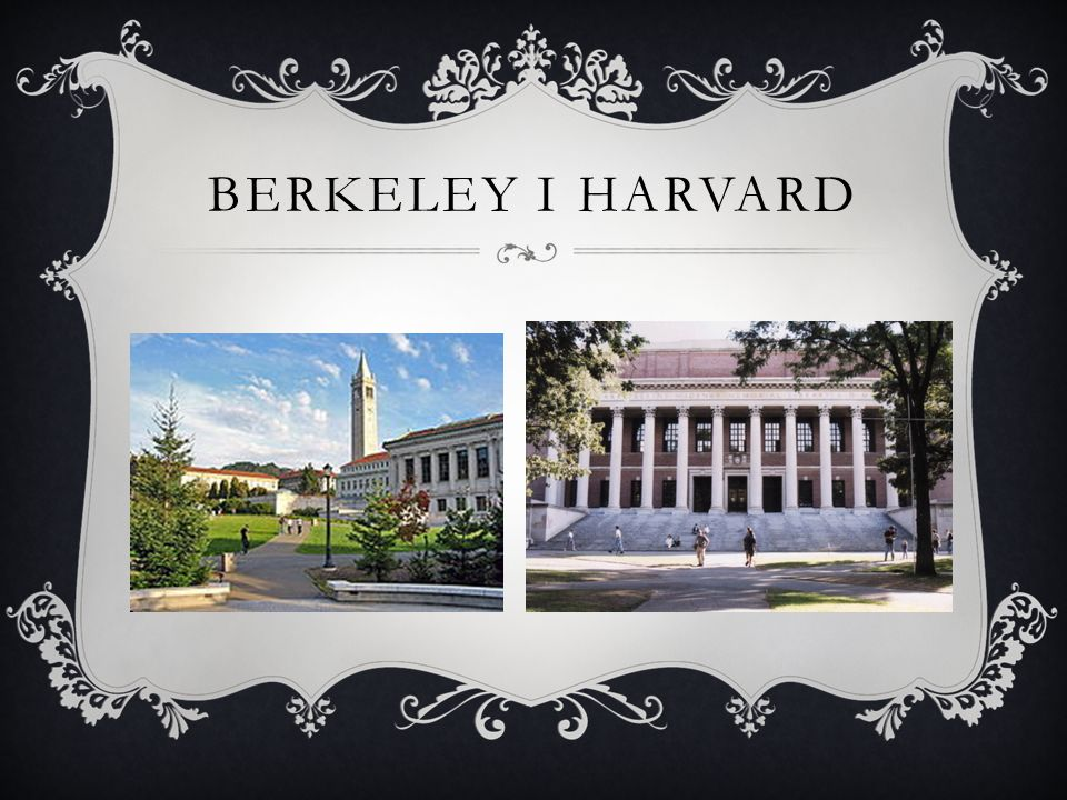 Berkeley i harvard