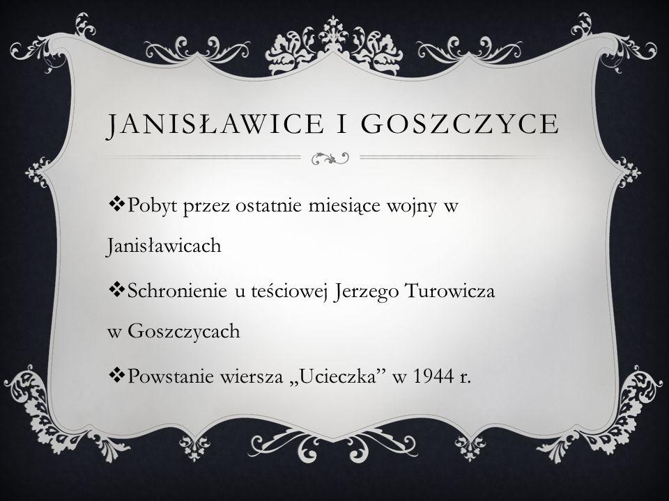 Janisławice i Goszczyce