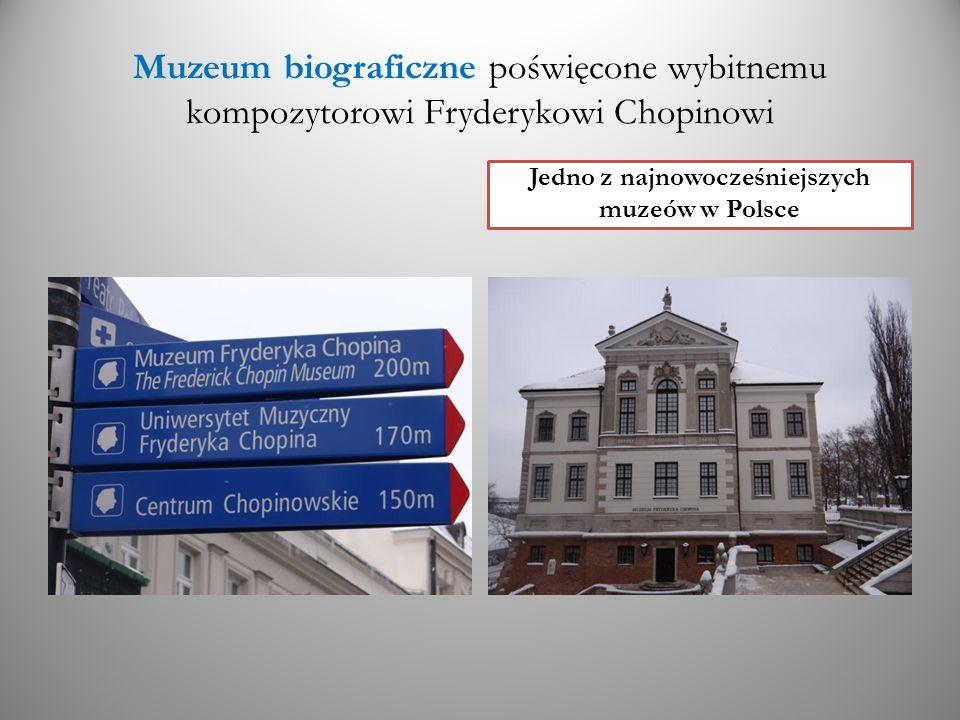 Jedno z najnowocześniejszych muzeów w Polsce