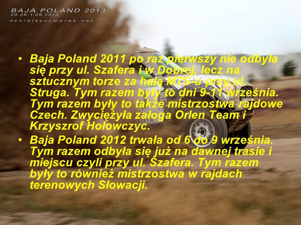 Baja Poland 2011 po raz pierwszy nie odbyła się przy ul