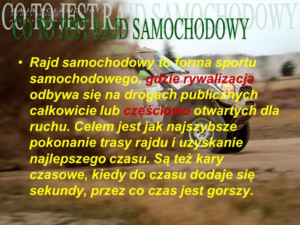CO TO JEST RAJD SAMOCHODOWY