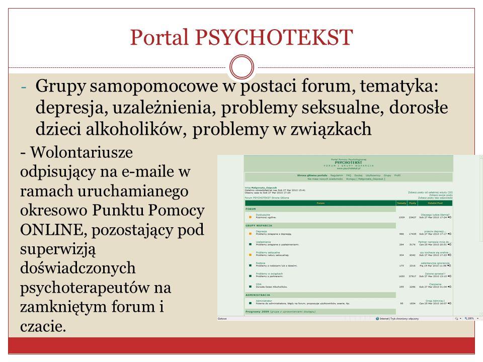 Portal PSYCHOTEKST