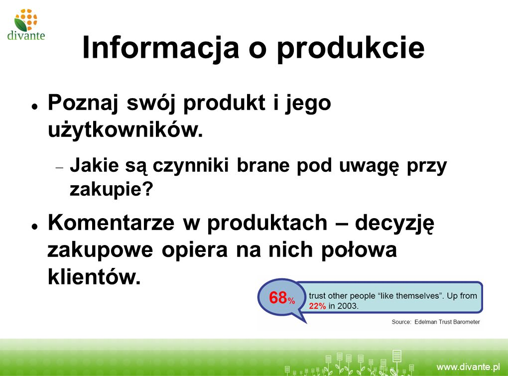 Informacja o produkcie