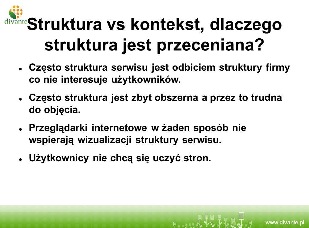 Struktura vs kontekst, dlaczego struktura jest przeceniana