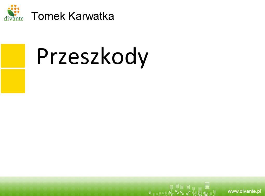 Tomek Karwatka Przeszkody