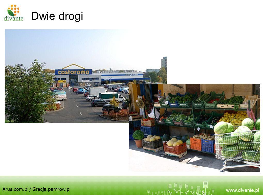 Dwie drogi Arus.com.pl / Grecja.pamrow.pl