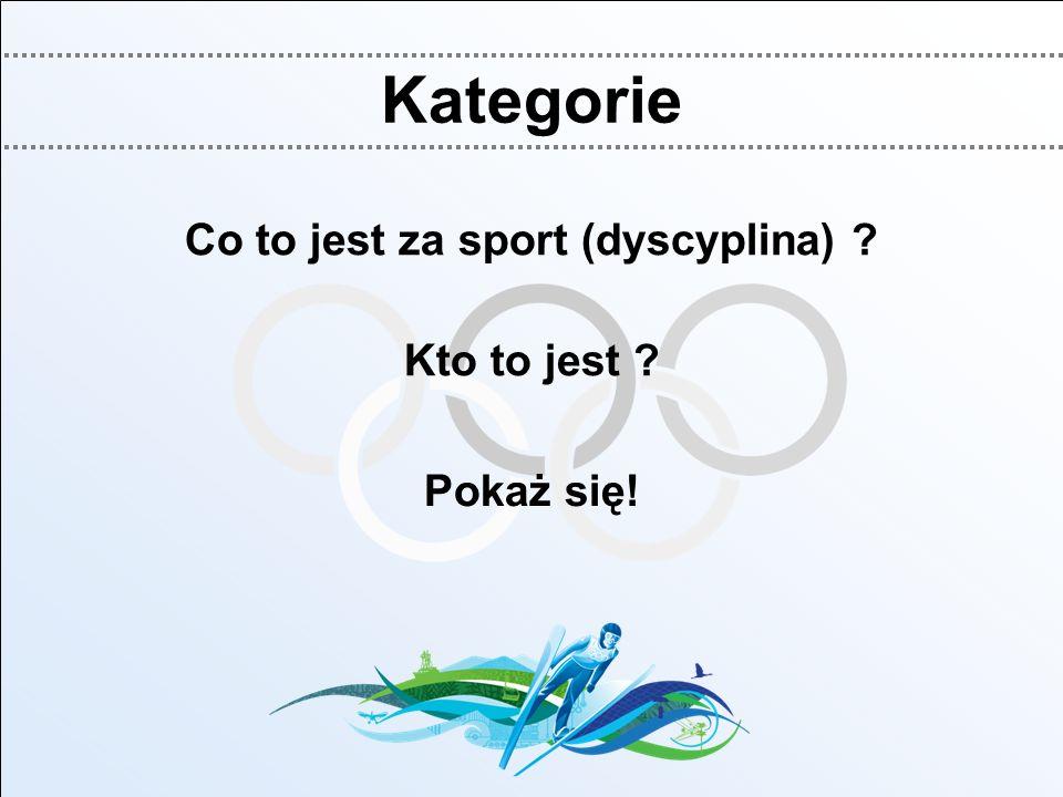 Co to jest za sport (dyscyplina)