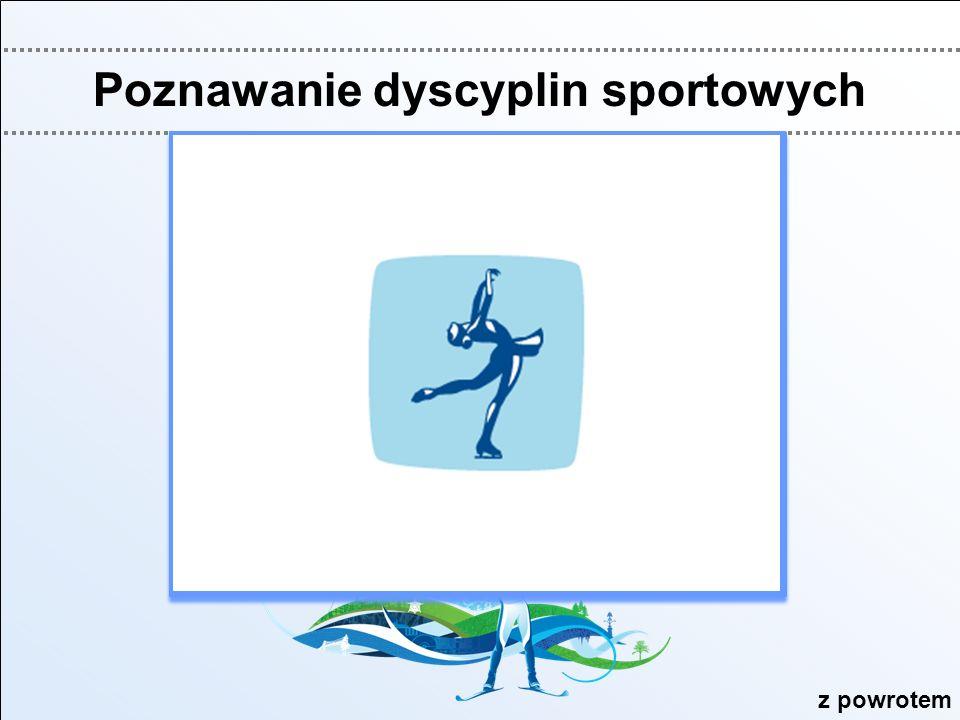 Poznawanie dyscyplin sportowych